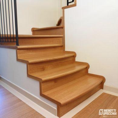 Stile unico - Rivestimento in legno per scale ...